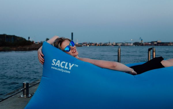 SACLY - blau